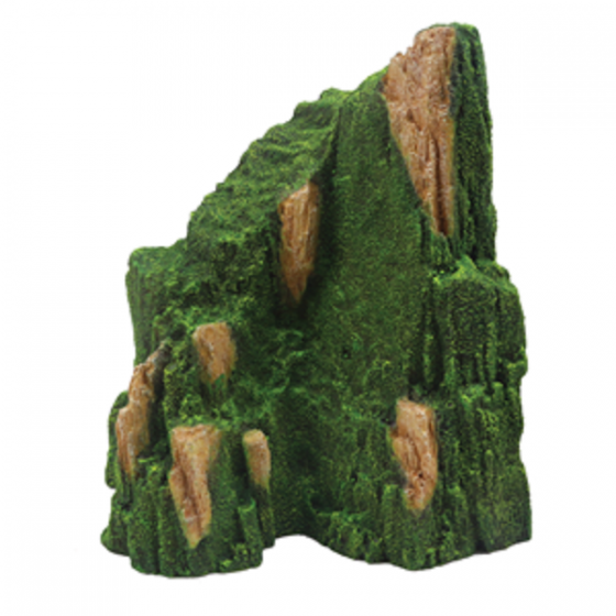 1399182 Hugo rock with moss 17x15x21 cm