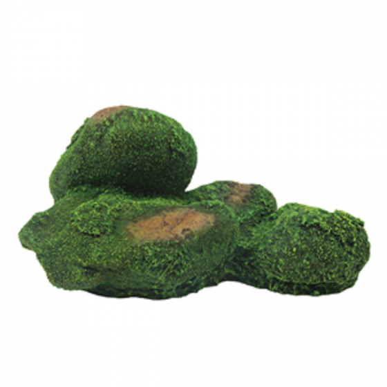 1399186 Hugo Rock with Moss 20x13x9 cm