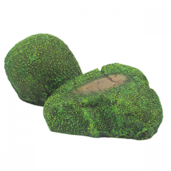 1399188 Hugo Rock with Moss 12x7x5 cm